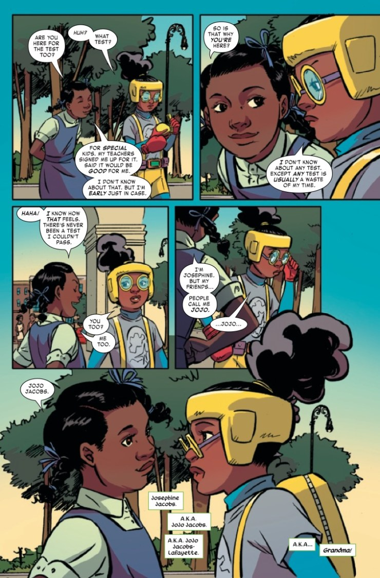 Marvel Preview: Moon Girl and Devil Dinosaur #44