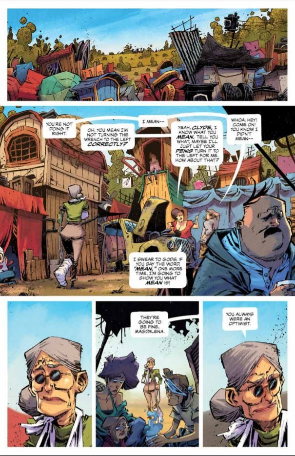 Middlewest #8 review: the power of anger