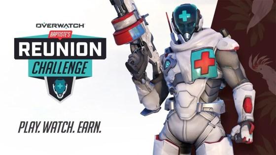 Overwatch: Baptiste Reunion Challenge is live