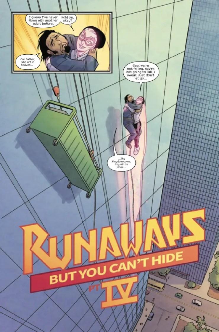 Marvel Preview: Runaways #22