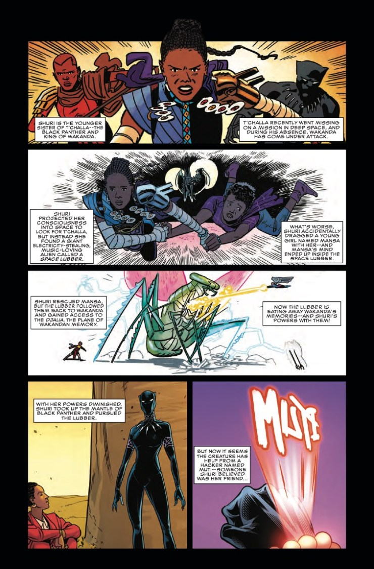 'Shuri Vol. 2: 24/7 Vibranium' TPB review
