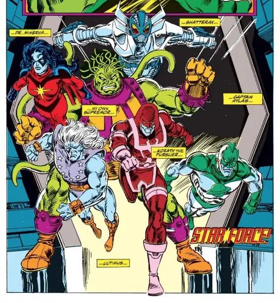 'Captain Marvel: Starforce' TPB Review