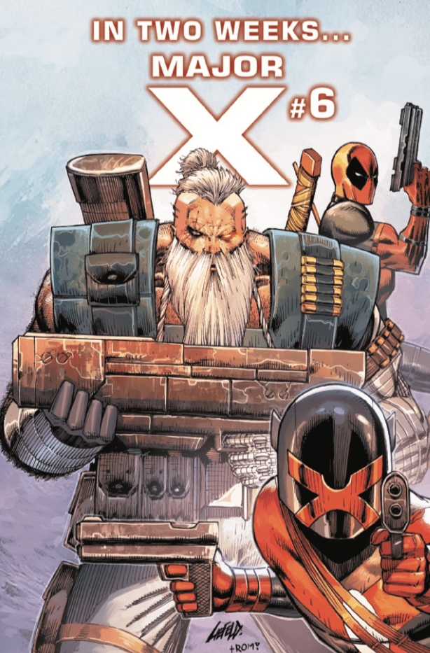 Major X's mother is revealed in 'Major X' #5