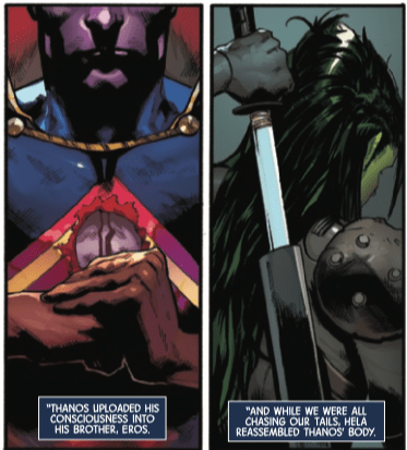 Thanos goes through some ch-ch-changes in Guardians of the Galaxy #6