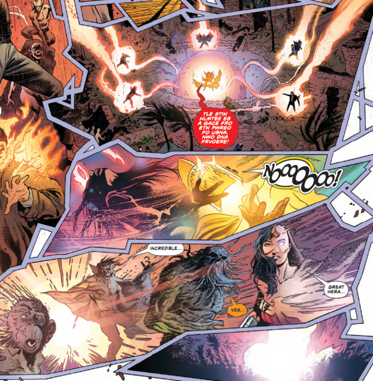 Who are the New Lords of Chaos in 'Justice League Dark' #12?
