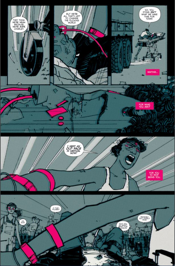 Thumbs #1 review: trapped by technology