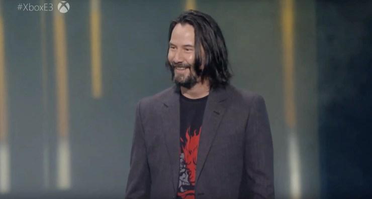 Keanu Reeves is in Cyberpunk 2077!