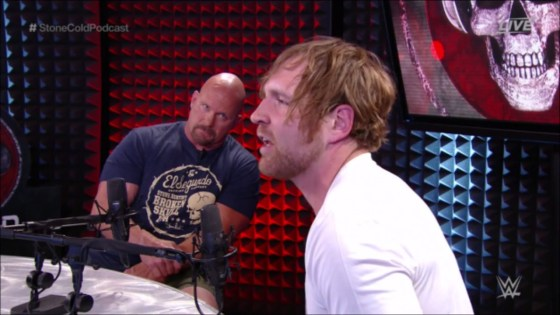 """Steve Austin on his infamous Dean Ambrose interview: """"I think about it every single day"""""""