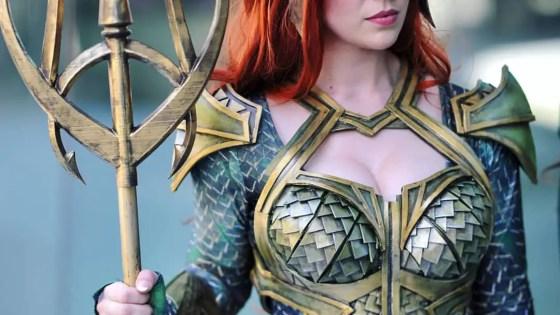 Aquaman: Mera cosplay by Captain Kaycee