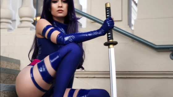 X-Men: Psylocke cosplay by Hendoart