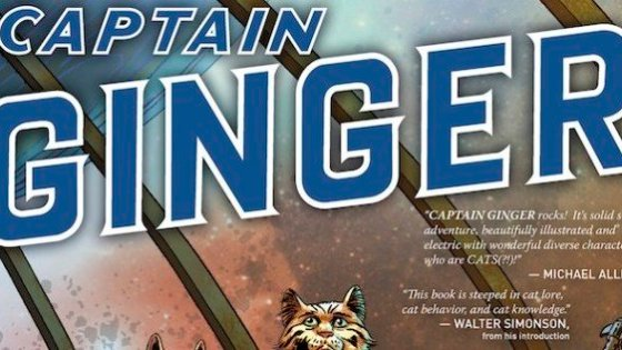 Stuart Moore on 'Captain Ginger', working with June Brigman, and 'Bronze Age Boogie'