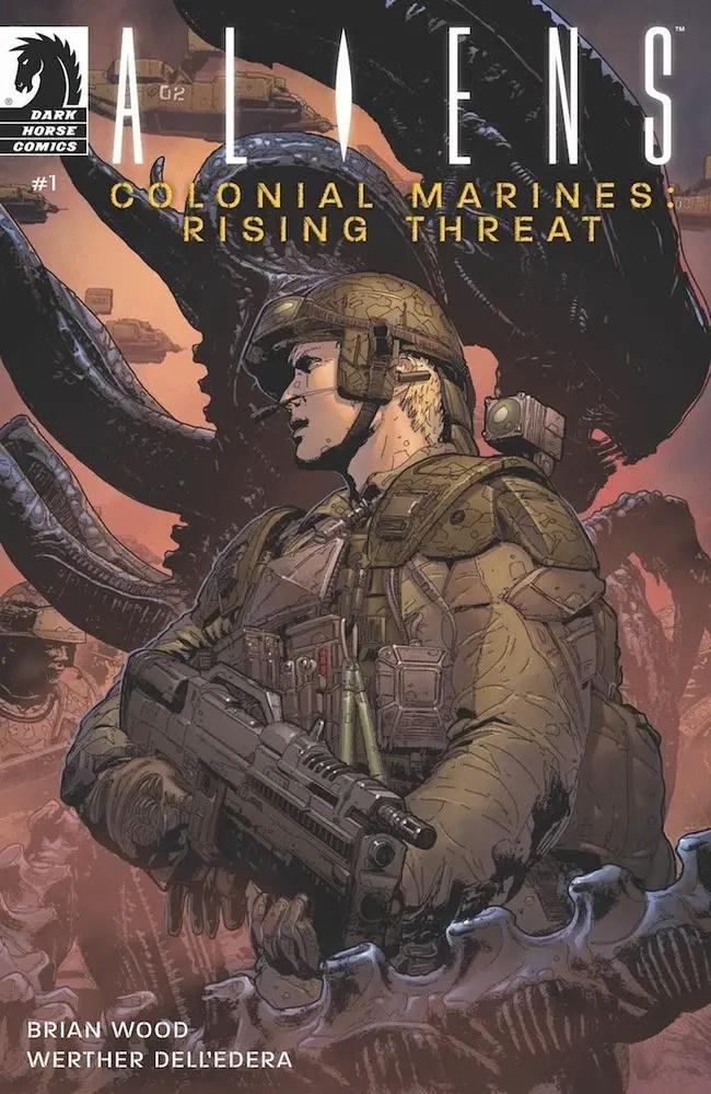 Dark Horse announces new series 'Aliens Colonial Marines: Rising Threat'