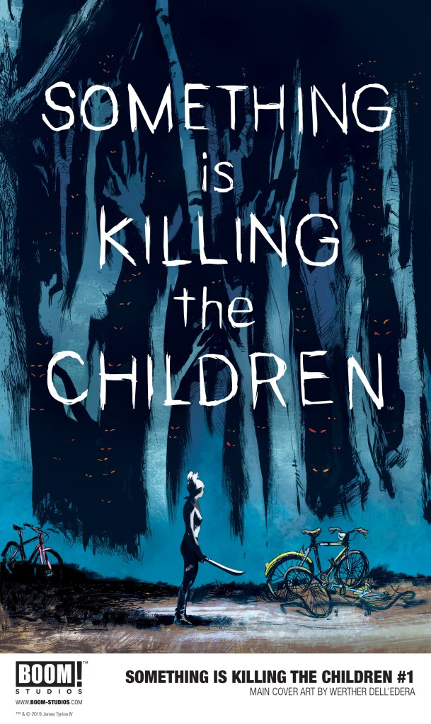 'This is my horror novel': James Tynion IV talks 'Something is Killing the Children'