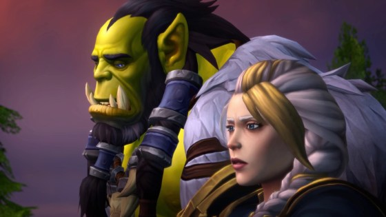Thrall and Jaina reunite for the greater good in the latest World of Warcraft cinematic.