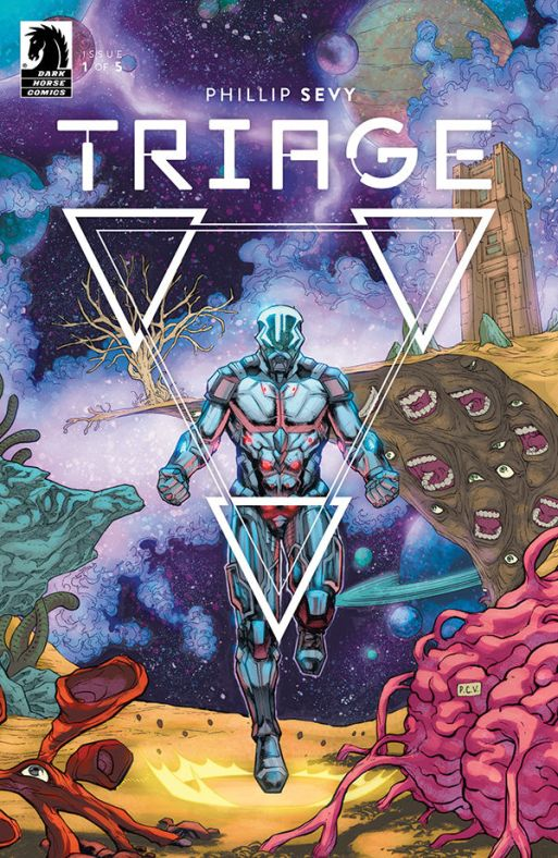 """""""Could only be done in comics"""": Phillip Sevy talks creator-owned Dark Horse series 'Triage'"""