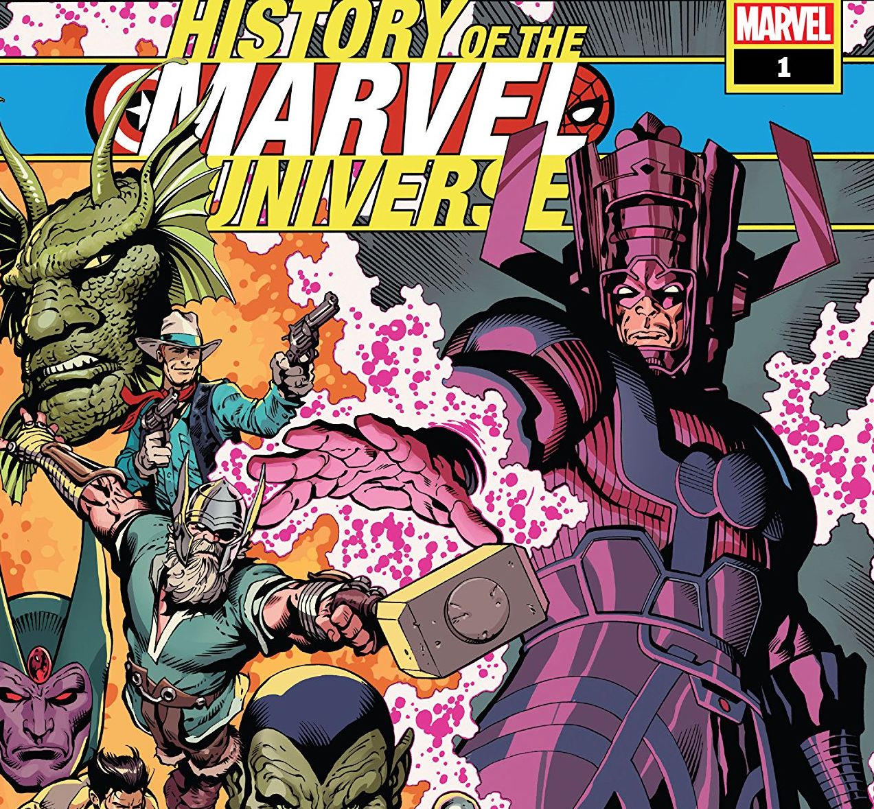 History of the Marvel Universe #1 review: class is in session