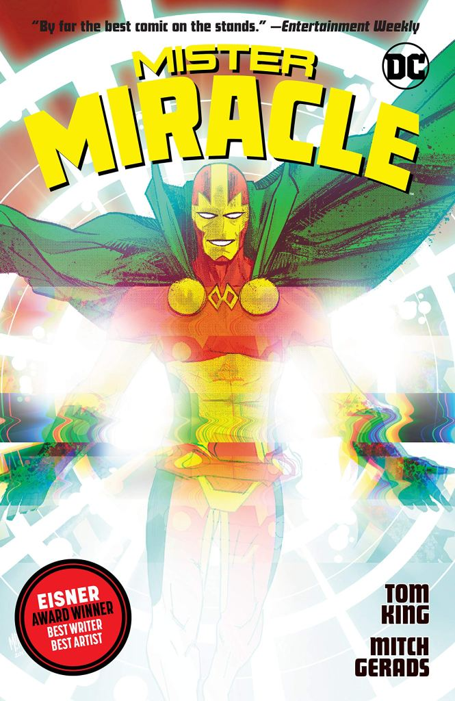 King and Gerads' 'Mister Miracle' wins best limited series Eisner award