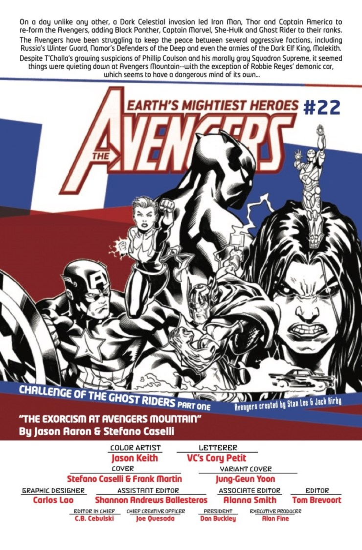 Marvel Preview: Avengers #22