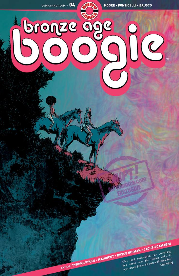 EXCLUSIVE AHOY Preview: Bronze Age Boogie #4