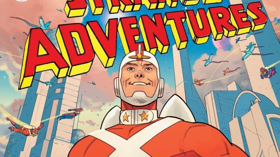 Coming off multiple Eisner wins, the creative team announces their next DC Comics project.