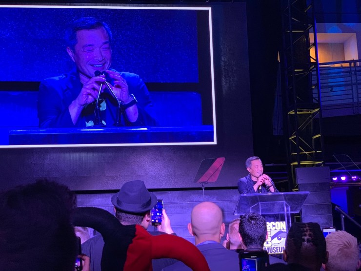 Jim Lee, movie stars and more help induct Batman into the Comic-Con Hall of Fame