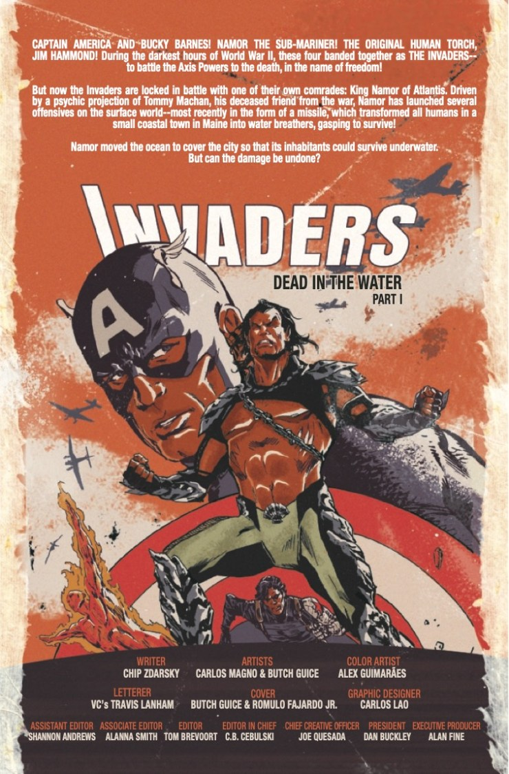 Marvel Preview: Invaders #7