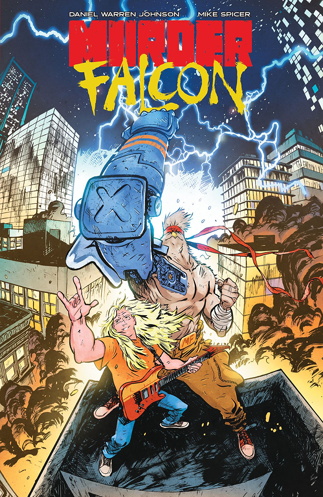 Murder Falcon review: the power of metal