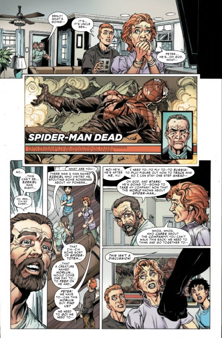 Marvel Preview: Spider-Man: Life Story (2019) #5 (of 6)