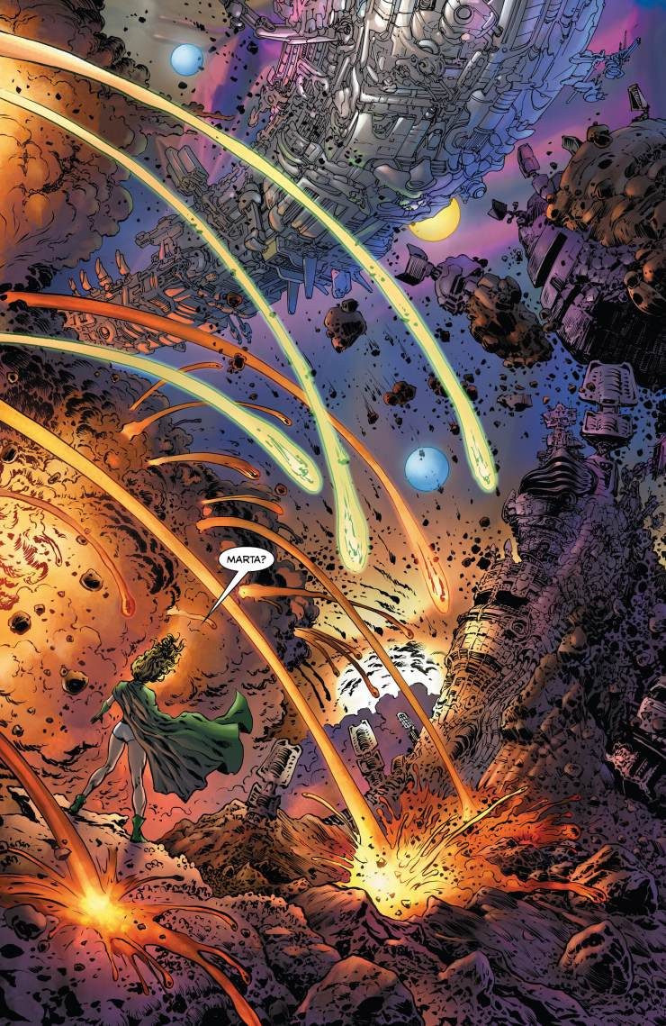 The Green Lantern #9 Annotations: Cosmic S.O.S.!
