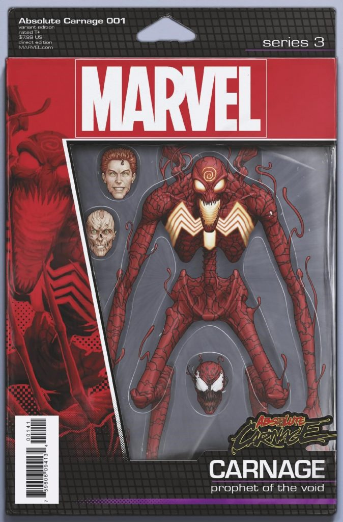 A first look at the titular villain of next month's Absolute Carnage.
