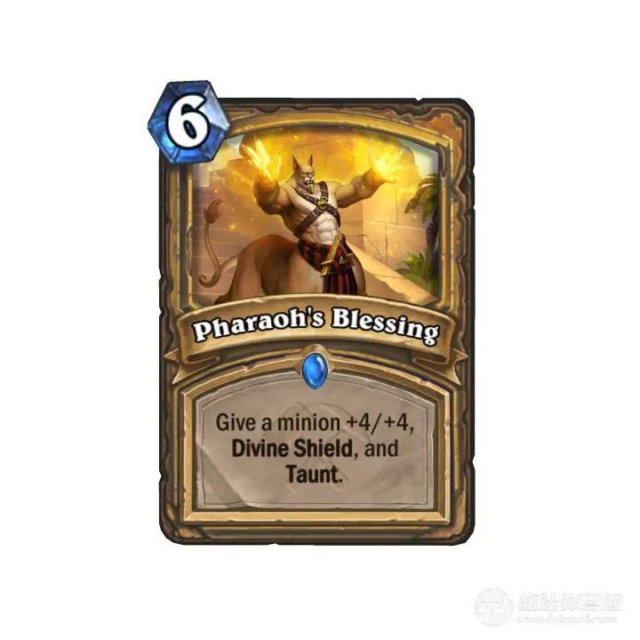 Hearthstone: Saviors of Uldum: New Rare Paladin spell revealed, Pharaoh's Blessing