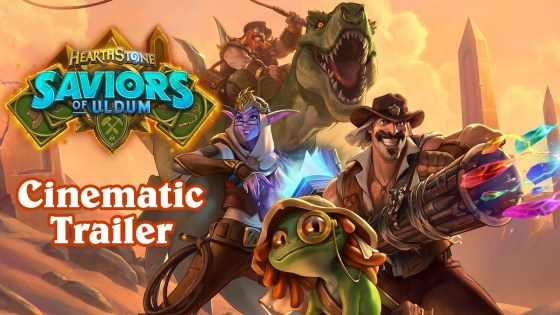 New Hearthstone expansion 'Saviors of Uldum' reveals new Reborn keyword and the return of the League of Explorers