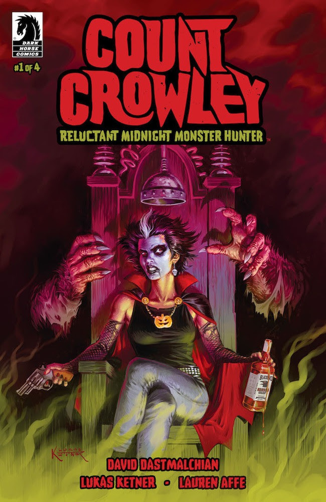 Dark Horse announces 'Count Crowley: Reluctant Midnight Monster Hunt' from David Dastmalchian and Lukas Ketner