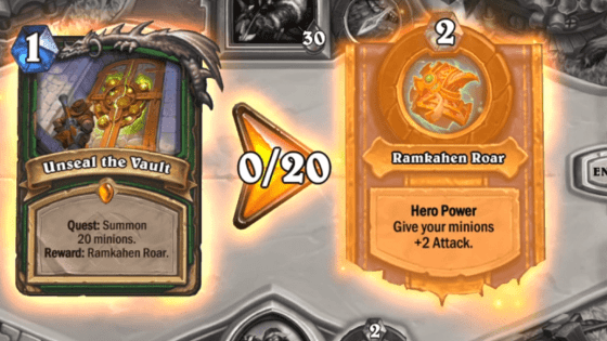 Hearthstone: Saviors of Uldum: Unseal the Vault, new Hunter Legendary Quest revealed