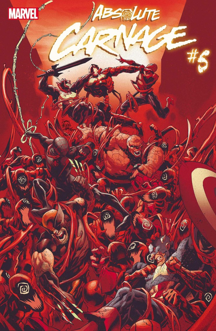 Marvel Comics reveals new covers and info for Absolute Carnage, Dawn of X, X-Men, and more