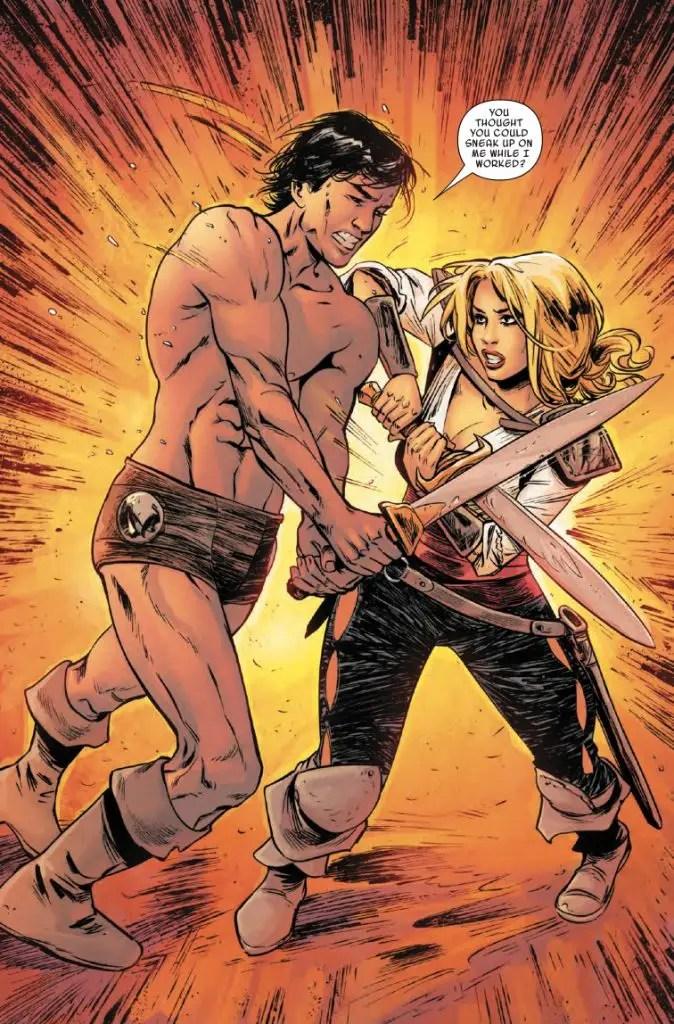 Age of Conan: Valeria TPB Review