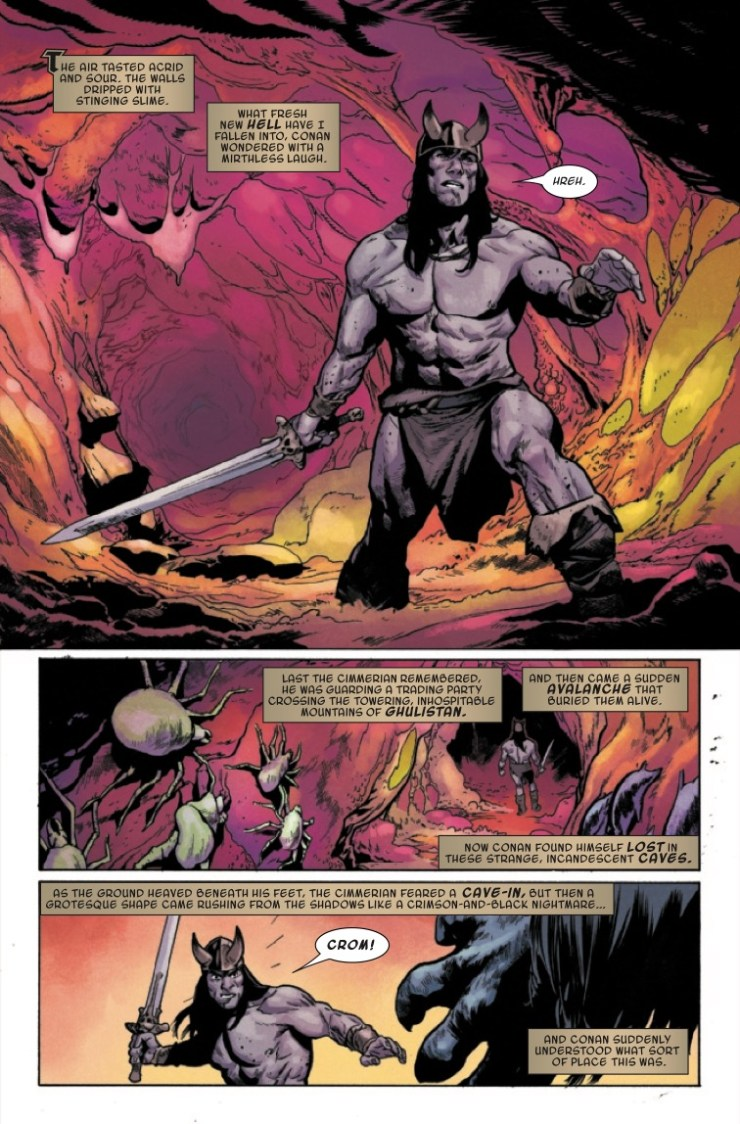 Marvel Preview: Conan the Barbarian #9