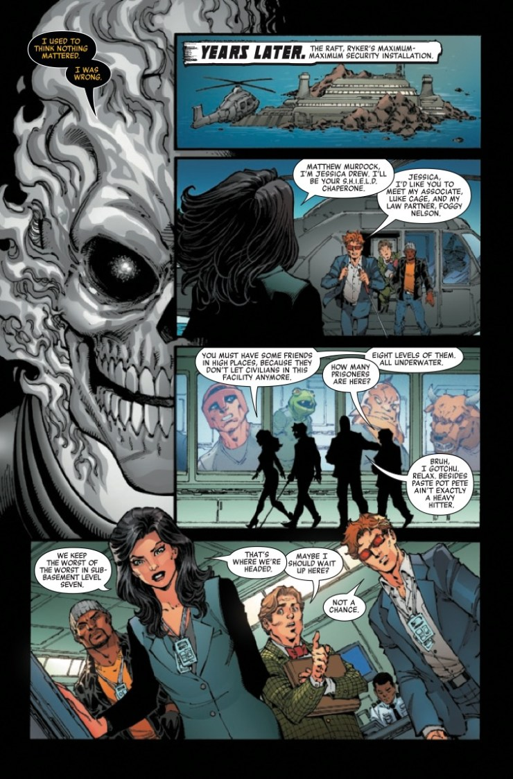 Marvel Preview: Cosmic Ghost Rider Destroys Marvel History #6
