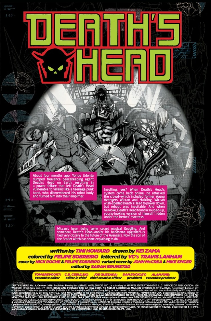 Marvel Preview: Death's Head #2