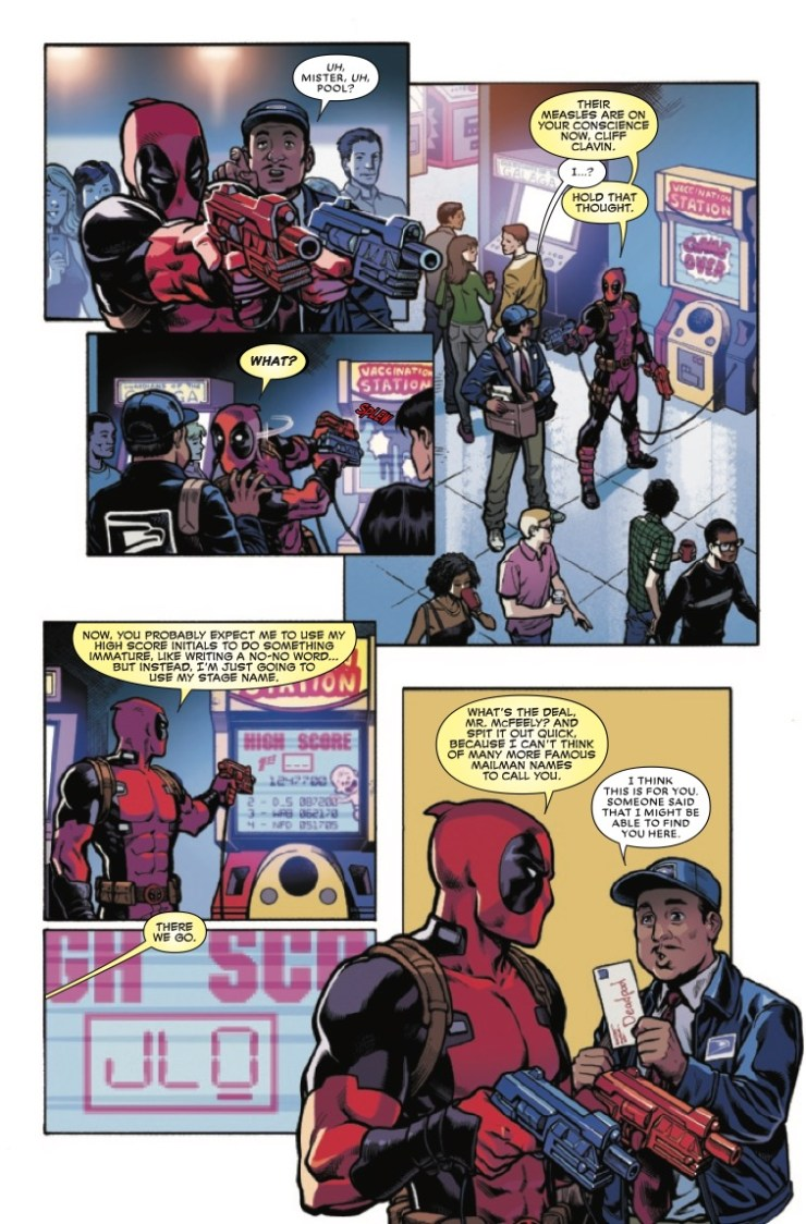 Deadpool Annual #1 Review