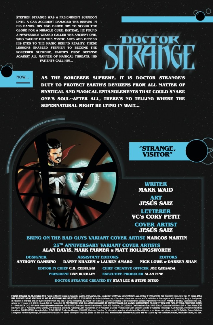 Marvel Preview: Doctor Strange #18