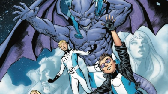 A BRAND-NEW SERIES STRAIGHT FROM THE PAGES OF FANTASTIC FOUR!