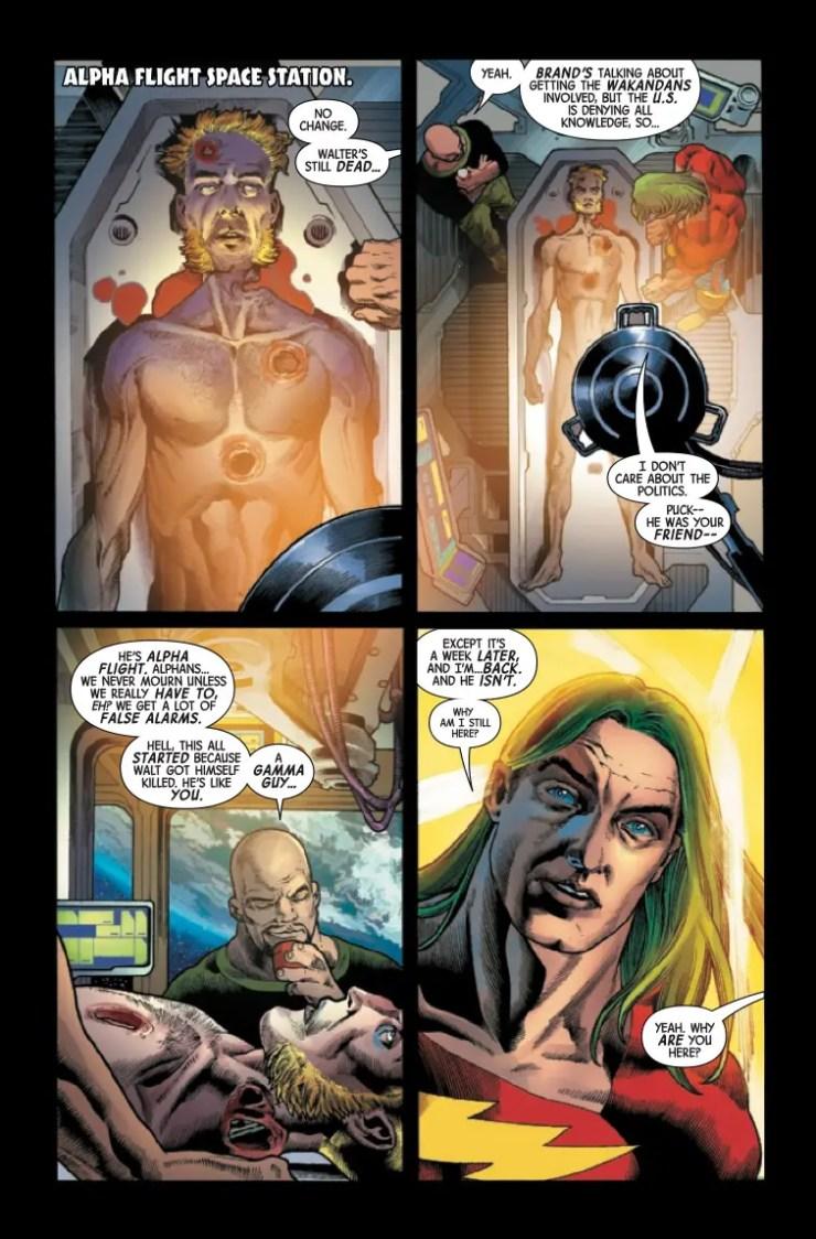 Marvel Preview: Immortal Hulk #22