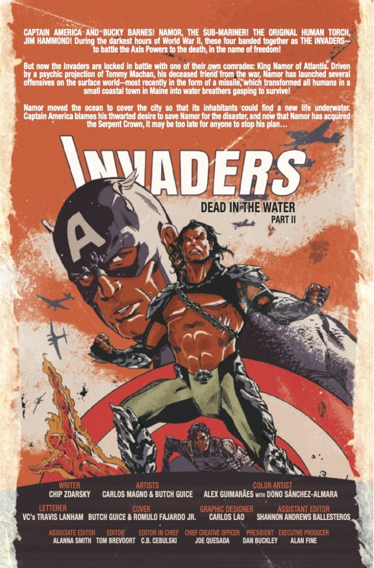 Marvel Preview: Invaders #8