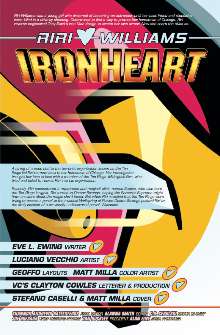 Marvel Preview: Ironheart #9