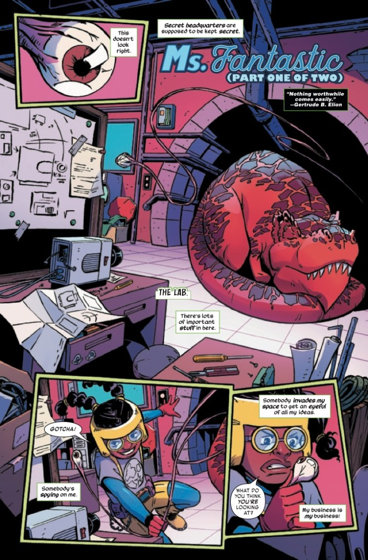Marvel Preview: Moon Girl and Devil Dinosaur (2015-) #46