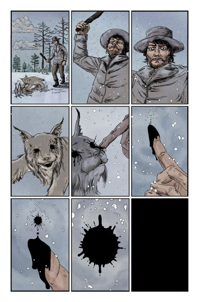 Vault Comics newest series, 'Black Stars Above,' brings eldritch horror to the Canadian wilderness