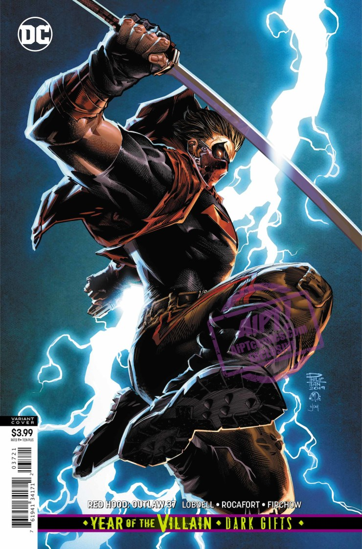 EXCLUSIVE DC Preview: Red Hood Outlaw #37