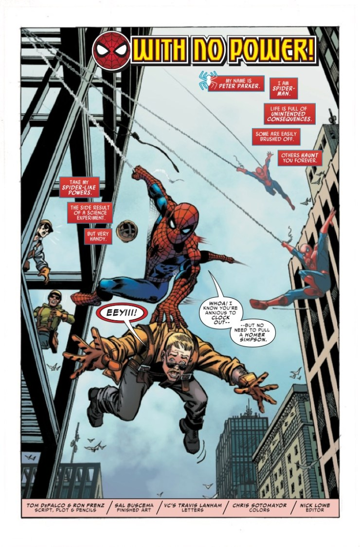 Marvel Preview: Sensational Spider-Man: Self-Improvement (2019) #1