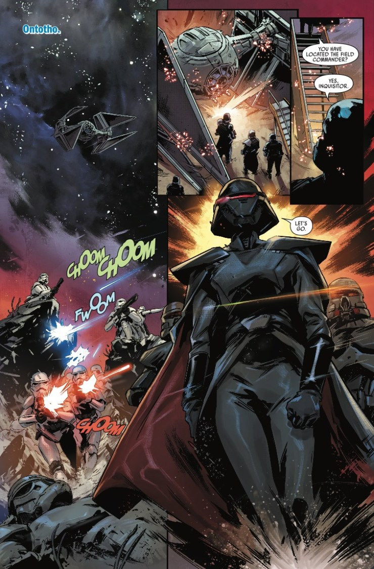Marvel Preview: Star Wars: Jedi - Fallen Order, Dark Temple #1